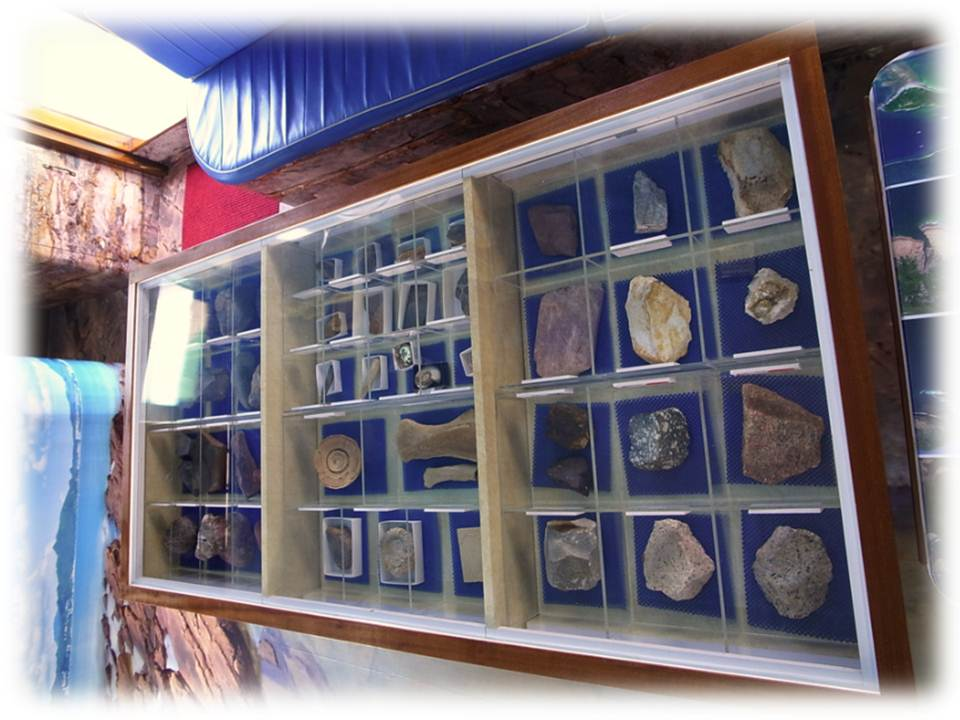 Geopark Boat Rock Display