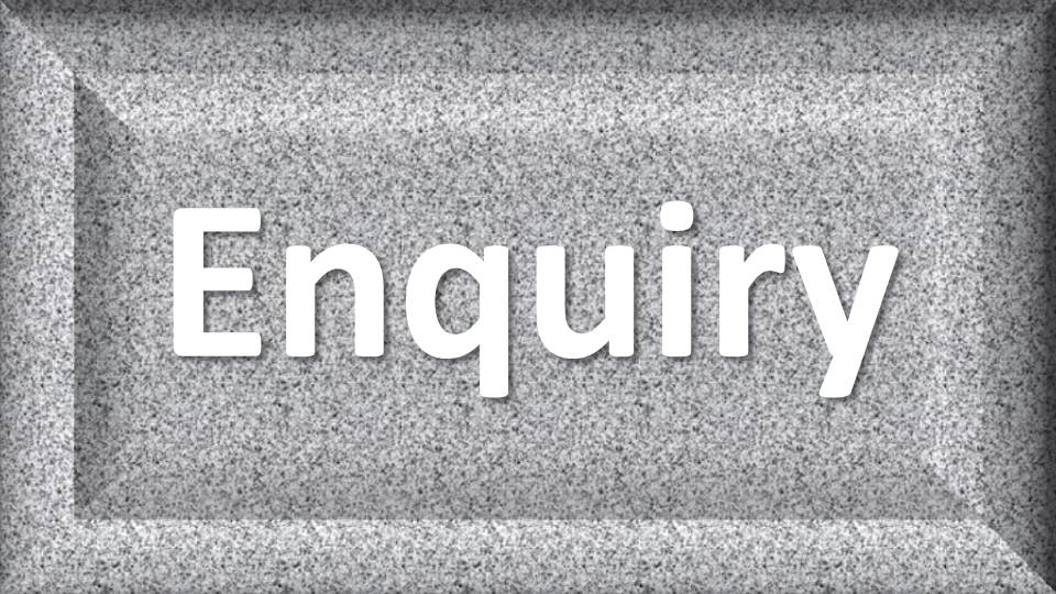 Enquiry Botton